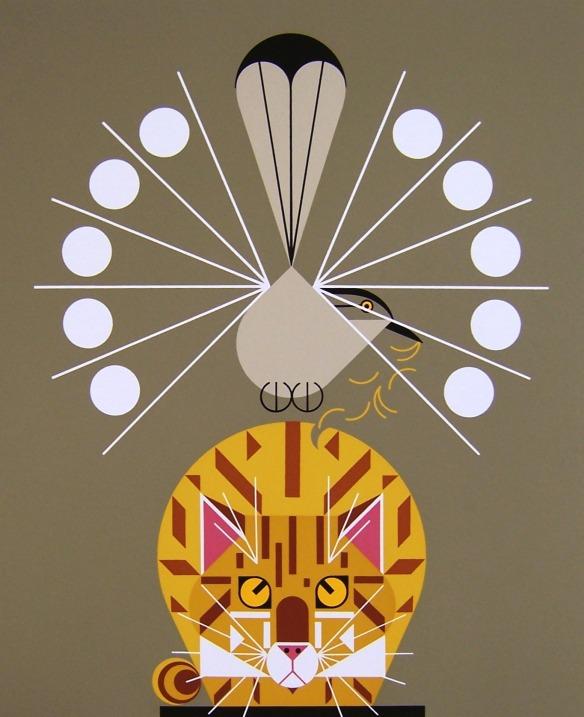 Catnip by Charley Harper
