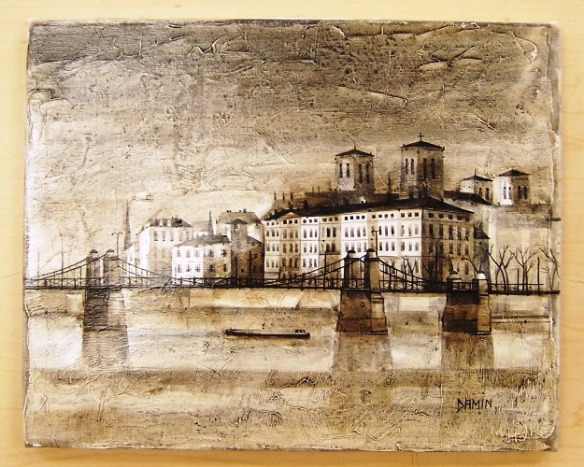 Vieux Lyon by Georges Damin