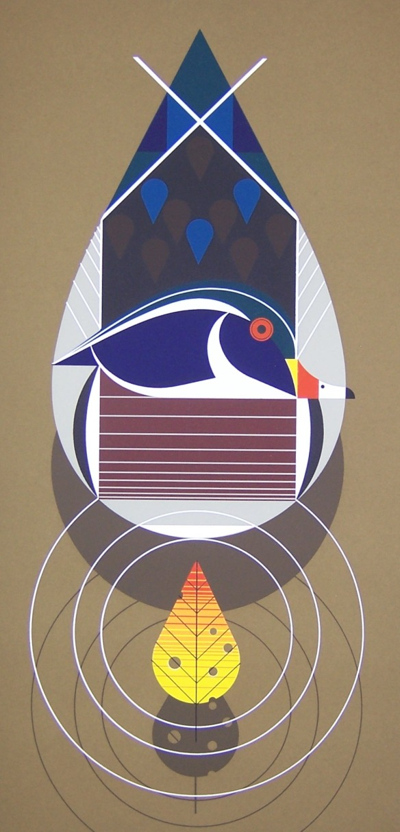 Best Dressed (Wood Duck) by Charley Harper