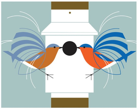 Homecoming by Charley Harper