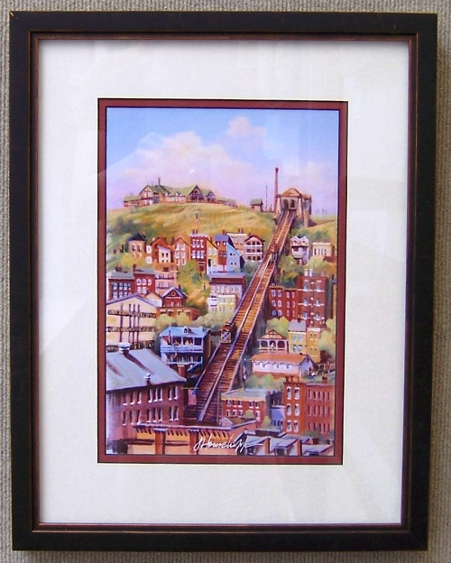 Mt. Adams Incline by Joanne Honschopp