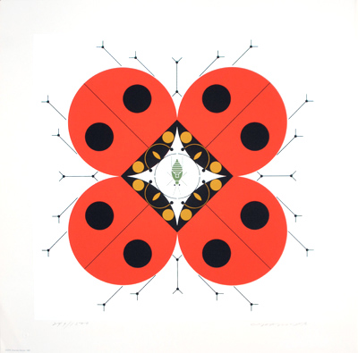 The Last Aphid by Charley Harper