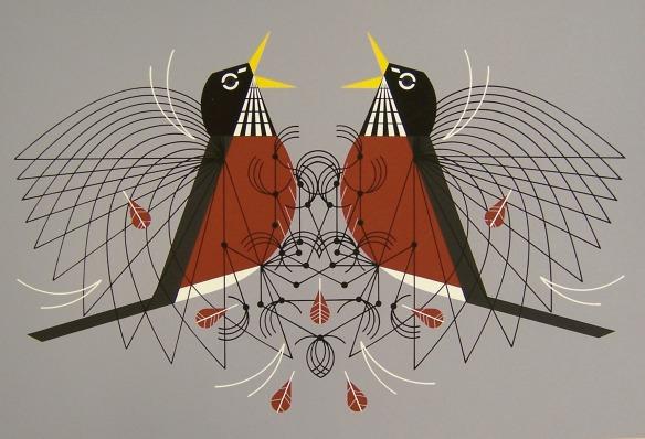 Round Robin by Charley Harper