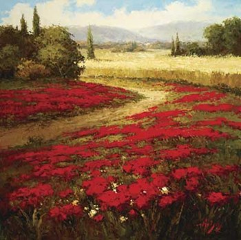 Red Poppy Trail by Peter Hulsey