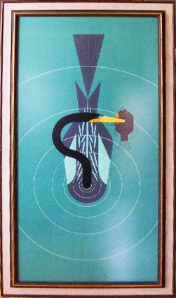 Anhinga by Charley Harper