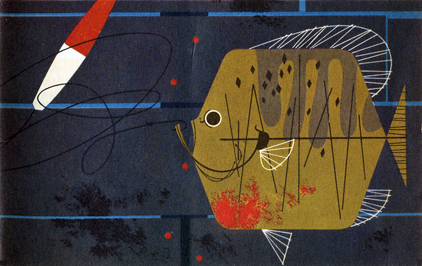 Sunfish by Charley Harper