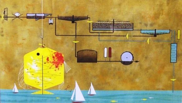 original painting by Charley Harper