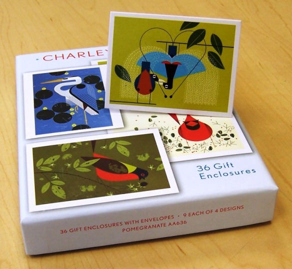 gift enclosures by Charley Harper