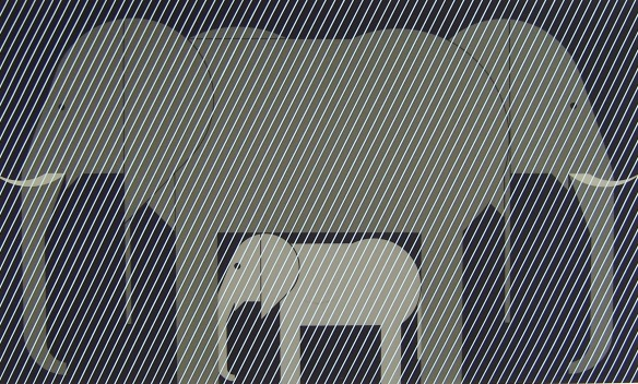 Jumbrella by Charley Harper