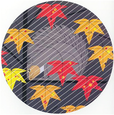 Squirrel in a Squall by Charley Harper