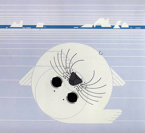 Whitecoat by Charley Harper