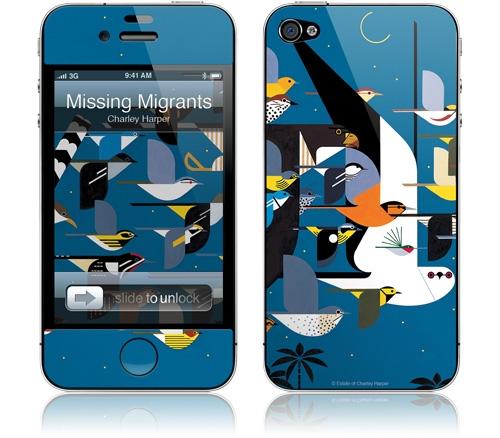 Charley Harper iPhone decal