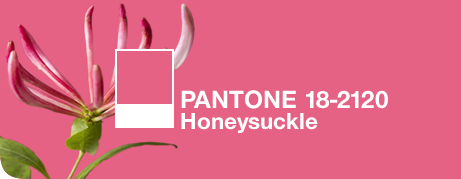 Honeysuckle: Pantone's 2011 Color of the Year