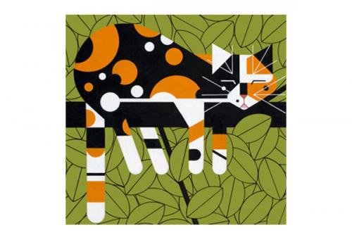 Limp on a Limb by Charley Harper