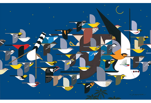 Mystery of the Missing Migrants by Charley Harper