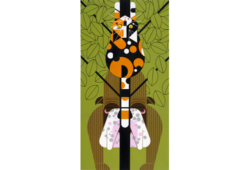 Tree'd by Charley Harper
