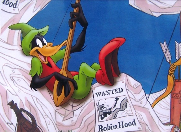 limited-edition giclee print of a classic cartoon