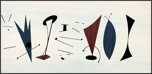 Musicians I by Charley Harper