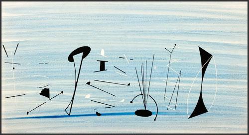 Musicians II by Charley Harper