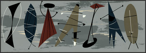 Musicians III by Charley Harper