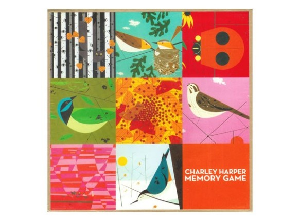 memory game by Charley Harper