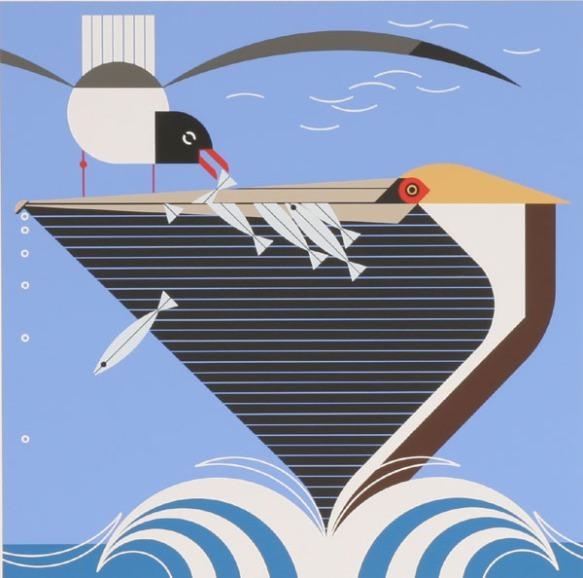 Pelican Pantry by Charley Harper