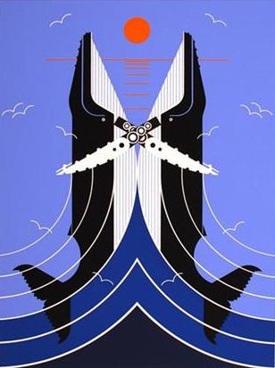 Romance on the Richter Scale by Charley Harper