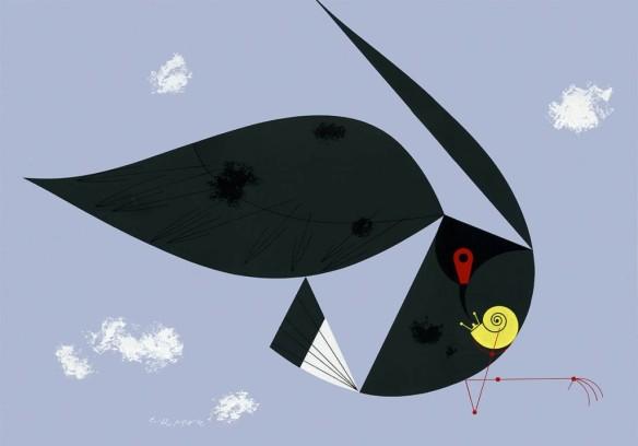 Everglade Kite by Charley Harper