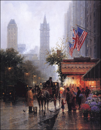 New York, New York by G. Harvey