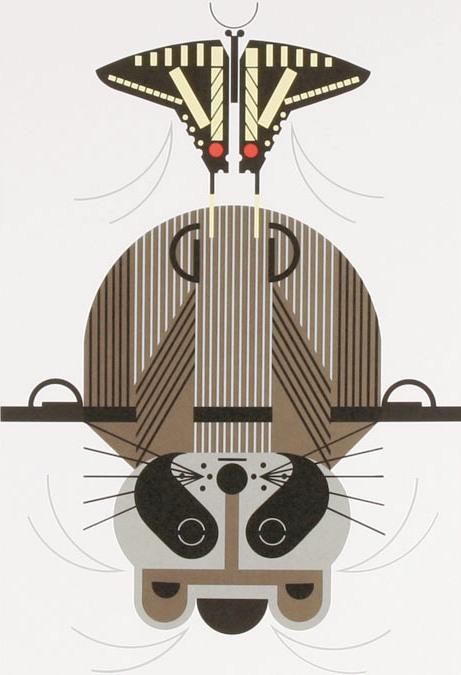 Raccrobat by Charley Harper