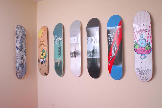 Can I Frame a Skateboard Deck as Art? | Fabulous Frames & Art Blog