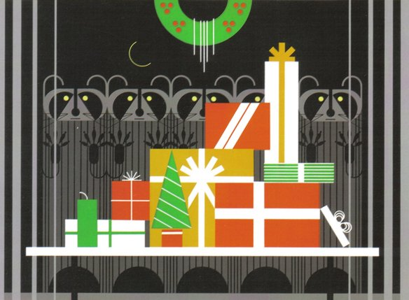 Gift Rapt by Charley Harper