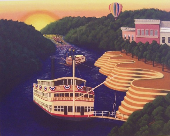 Riverboats by Kate Albert