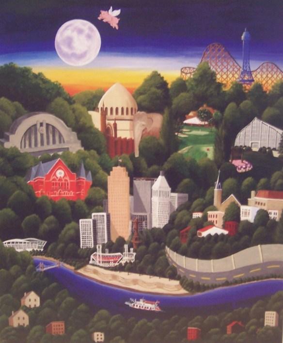 Cincinnati by Kate Albert