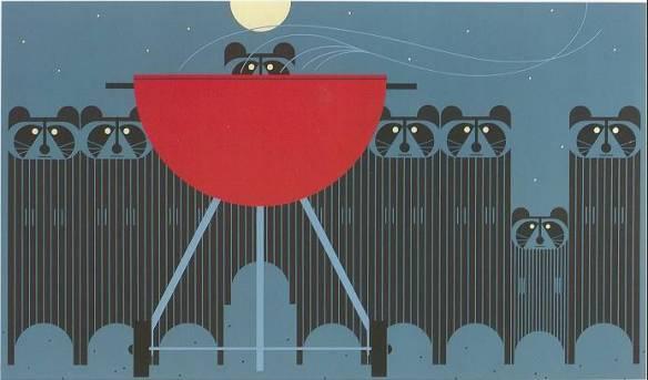Big Rac Attack by Charley Harper