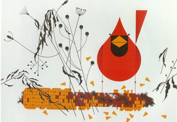 Red and Fed by Charley Harper