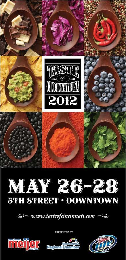 Taste of Cincinnati 2012 Poster