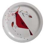 Charley Harper Cardinal Plate