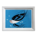 Charley Harper Swallow Tailed Kite Tray