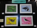 Quartet of framed Charley Harper pieces