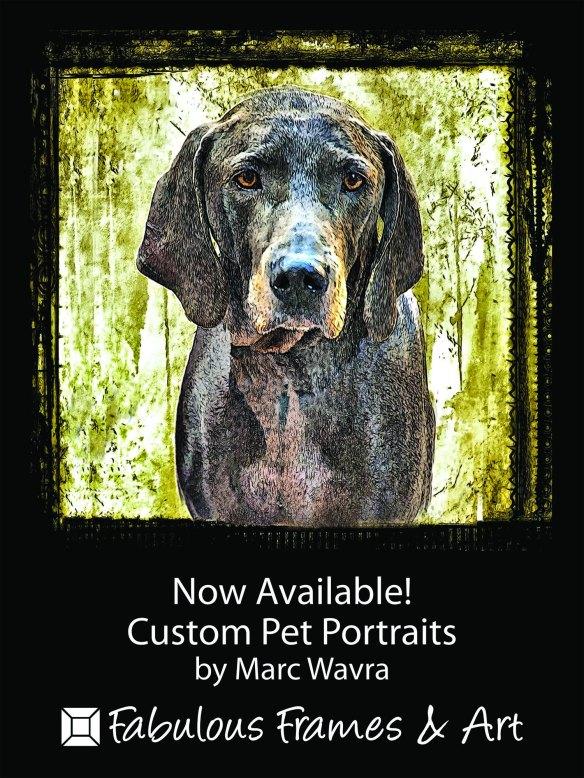 Custom Pet Portraits by Marc Wavra
