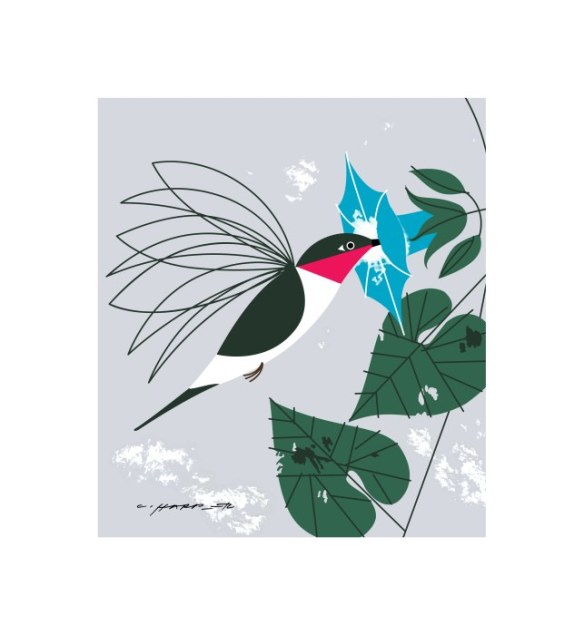 """Little Sipper"" Charley Harper"